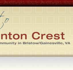 Linton Crest. A residential community in Bristow/Gainesville, Virginia